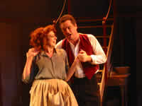 Mrs Lovett and Sweeney Todd
